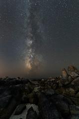 Milky Way (Angel T.) Tags: 2018 connegro ollares vialactea milkyway nightphotography stars galicia sanxenxo summer nikon d750