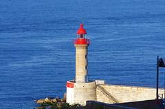 709 - Bastia dans la Citadelle, la vue depuis la Terrasse du Bar de la Citadelle, place du Donjon, l'entrée du Vieux Port (paspog) Tags: bastia citadelle citadel corse corsica france mai may 2018 phare lighthouse