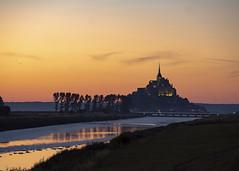 Le Mont Saint Michel (joolst14) Tags: saintmichel france normandy sunset relections evening lemontsaintmichel