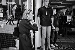 Urban characters (fcribari) Tags: 2018 costarica fujifilm x100s blackandwhite blancoynegro fotografiaderua monochrome pretoebranco reflection street streetphotography