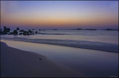 Composición al amanecer. (antoniocamero21) Tags: amanecer color foto sony paisaje marina trengandín cantabria noja
