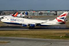 British Airways   Boeing 747-400   G-CIVI   oneworld livery   London Heathrow (Dennis HKG) Tags: aircraft airplane airport plane planespotting oneworld canon 7d 100400 london heathrow egll lhr britishairways ba baw speedbird boeing 747 747400 boeing747 boeing747400 gcivi