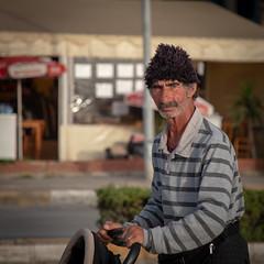 Street seller (mfatic) Tags: trader man portrait turkish kuşadası asiaminor street kusadasi aydın turkey tr syncerror