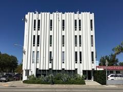Mid Century Building MIMO District (Phillip Pessar) Tags: mid century building mimo district miami