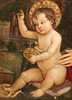 "Pinturicchio o Pintoricchio (Bernardino di Betto Betti 1452-1513) - Bambino Gesù ""delle mani"" (1494 circa) - Mostra Raffaello e l'eco del Mito - GAMeC Bergamo (raffaele pagani) Tags: mostraraffaelloelecodelmito exhibitionraffaelloandtheechoofthemyth gamecbergamo galleriadartemodernaecontemporanea modernandcontemporaryartgallery bergamo raffaellosanzio giovannisanti pinturicchio bernardinodibettobetti pedroberruguete lucasignorelli dipinti paintings museo museum"
