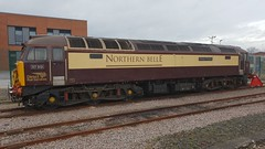 DRS Northern Belle Class 57 (Uktransportvideos82) Tags:
