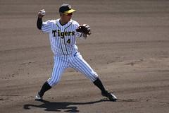 #4 KUMAGAI (yukky89_yamashita) Tags: 阪神タイガース 西宮市 兵庫 鳴尾浜球場 熊谷敬宥 nishinomiya ballpark baseball npb tigers