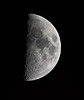 First Quarter Moon (sparkdawg068) Tags: moon canon sl2 lunar texas celestron sct telescope 2000mm eos rebel prime focus eqmount space weather ice software microsoft
