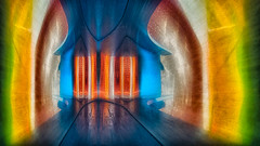 Tunnel of Light (Topolino70) Tags: nokia lumia 930 mobile light color abstract art