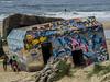 Bunker de la segunda guerra mundial en Capbreton, Landas , Francia / Bunker of the Second World War in Capbreton Landes France (javierbelasko) Tags: bunker mar francia landas surf arena playa