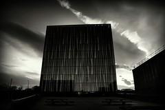The Sir Duncan Rice (PeskyMesky) Tags: aberdeen university sirduncanrice library landscape scotland sky architecture monochrome blackandwhite canon canon6d leefilter