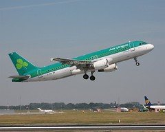 Aer Lingus                              Airbus A320                                   EI-DEP (Flame1958) Tags: aerlingus aerlingusa320 airbusa320 eidep airbus a320 320 dub eidw dublinairport 280618 0618 2018 5003 ireland holiday vacation takeoff departure liftoff rotate v1 v2