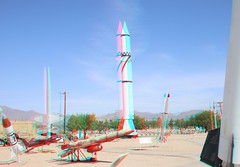 White Sands Missile Museum (CaptDanger) Tags: 3dimages 3d 3dimensional 3dglasses 3dimage 3dpicture 3dpictures redblue red blue anaglyph anaglyph3d canonphotography southweasternus america redblueglassesneeded 3dglassesrequired 3deffect anaglyphglasses 3dphotography newmexico adventure roadtrip fun whitesandsmissilemuseum rockets missiles museum rocket whitesandstestrange