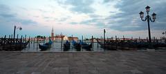 San Giorgio at dusk. (Chris Firth of Wakey.) Tags: sangiogiomaggioreisland venice italy gondola