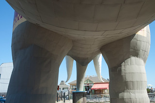 Underneath Lucy, The Margate Elephant