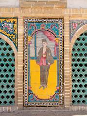 Details - Masoudiyeh Palace | عمارت مسعوديه (blondinrikard) Tags: iran tehran