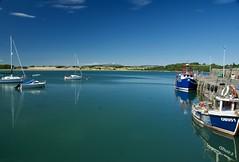Garlieston Bay (Ian Mooney) Tags: fishingboat garlieston trawler yacht