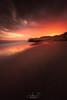 Calblanque Beach (jesbert) Tags: aprobado calblanque murcia españa spain playa beach agua water atardecer sunset sol sun nubes clouds hot colors sony a7rii carl zeiss arena sand long exposure larga exposición