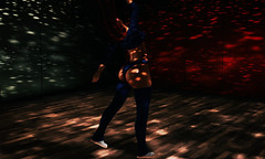 And those who were seen dancing were thought to be insane by those who could not hear the music... (Sɨℓνεя Sɦɨɳε (silverchild24 resident)) Tags: secondlife editing photoshop kraftwork blueberry tableauvivant lelutka maitreya theskinnery cosmopolitan dance dancing freedom teaser terradesign