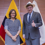 LA PRESIDENTA DE LA ASAMBLEA NACIONAL RECIBIÓ AL EMBAJADOR DE ESTADOS UNIDOS DE NORTEAMÉRICA TODD CHAPMAN, QUITO 12 DE JULIO 2018. thumbnail