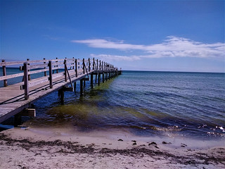 Wooden pier of Falsterbo - Sweden (133921621)