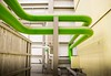 tubes (Nick Frantzeskakis) Tags: tubes industry industrial green art artistic curves factory canon 800d sigma colors