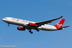 Virgin Atlantic Airways | G-VKSS | Airbus A330-343  | JFK | KJFK (Trevor Carl) Tags: a330343 aviation airbus avgeeks photo aircraft airplane alltypesoftransport gvkss jfk kjfk newyork newyorkcity newyorkjohnfkennedy plane transport unitedstatesofamerica virginatlanticairways airlinersnet
