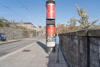 LUAS TRAM STOP AT COLLINS BARRACKS [RED LINE MUSEUM STOP]-138719