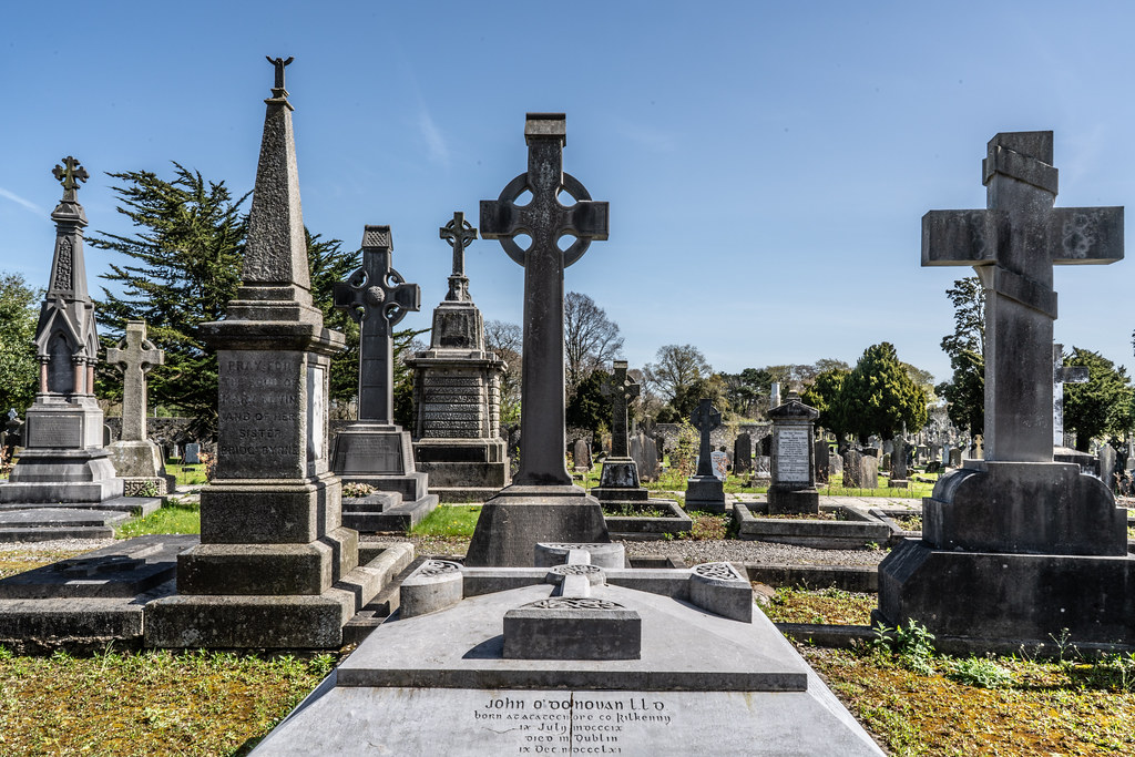 JOHN O'DONOVAN AN IRISH SCHOLAR [BURIED IN GLASNEVIN CEMETERY DECEMBER 13 1861]-138859