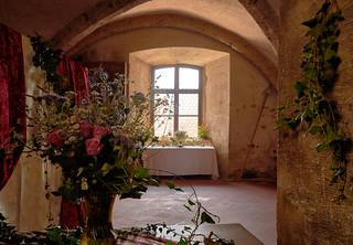 Still Life in Burghausen Castle, Stillleben in der Burg zu Burghausen