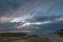Rocks, Surf and Sunrise (armct) Tags: rocks surf sunrise clouds wind longexposure sky sand beach goldcoast d810 1635mm morning onshore queensland coolangatta border reflection glistening
