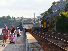 150232 Dawlish (3) (Marky7890) Tags: gwr 150232 class150 sprinter 2f51 dawlish railway devon rivieraline train
