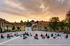 Summer Solstice am 5:00 (Laszlo Horvath.) Tags: eger hungary summer solstice am 500