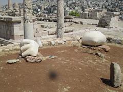Remains of a Colossal Statue of Hercules (david_e_waldron) Tags: jordan amman