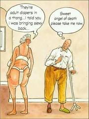 Adult Diapers Thong (Shaya Precision Health) Tags: medical cartoon thong diaper aging geriatric