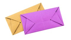 Easy Origami Envelope Letterfold Tutorial - Paper Kawaii (paperkawaii) Tags: origami instructions paperkawaii papercraft diy how video youtube tutorial