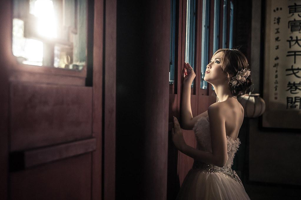 6856婚紗攝影-婚紗照-台北-林安泰古厝-暗黑風