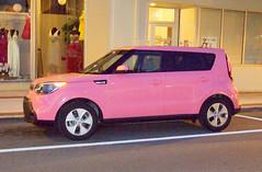 Pink Soul (clarkfred33) Tags: kia kiasoul soul pink automobile popular nightphoto pinksoul