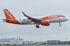 Easyjet / A320 / OE-IVA / LFRS 21 (_Wouter Cooremans) Tags: nte nantes spotting spotter avgeek aviation airplanespotting easyjet a320 oeiva lfrs 21 austria sticker austriasticker