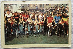1964 Belgian team for the world championship cycling (Sallanches 1964) Tags: sallanches 1964 belgianteam roadcycling worldchampionroadcycling