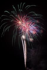 DSC_4398 (CEGPhotography) Tags: 2018 chestercounty newgarden pa balloonfestival fireworks hotairballoon
