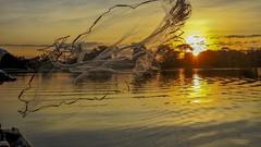 Capturando o amanhecer //  Capturing the dawn (Parchen) Tags: amanhecer alvorecer raiar raiardodia alvorada tarrafeando tarrafeado tarrafeador água sol cor cores vibrantes bela beleza linda paisagem foto fotografia imagem registro tarrafa tarrafaaberta aberturadatarrafa parchen carlosparchen jogandoatarrafa
