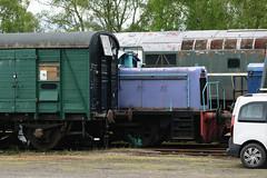 517 Strathspey Railway 200518 (Dan86401) Tags: strathspeyrailway 517 andrewbarclay 040 040dh dieselhydraulic shunter
