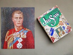 HM King Edward VIII (pefkosmad) Tags: jigsaw puzzle hobby leisure pastime wood wooden plywood complete replacementpiece secondhand used vintage chadvalley hmkingedwardviii edwardviii king uncrownedking portrait