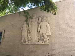 20180709-115710-2 (alnbbates) Tags: july2018 downtowntulsa sculpture art publicart basrelief