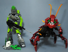 Warriors of Atlantis (Johann Dakitsch) Tags: biocup2018 bionicle atlantis lego moc cretaion toy diver lobster monster crab sea ocean robot