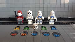 Minifigmaker order arrived! (影Shadow98) Tags: lego clone trooper custom assassin engineer galactic marine