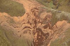 Hillslope (hó) Tags: hill slope hafursey iceland soil brown patterns june 2018 landscape