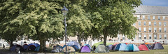 Bristol Housing Action Movement protest, College Green (zolaczakl) Tags: bristolhousingactionmovement bham bristol tent protest homelessness roughsleeping cityhall thecoucilhouse photographybyjeremyfennell nikond7200 panorama nikonafsnikkor50mmf18glens uk england july 2018