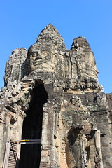 Angkor Thom Entry Gate (Buster&Bubby) Tags: unescoworldheritagesite mountmeru entrygate siemreap angkorthom cam banyontemple khmerempire unesco world heritage site cambodia